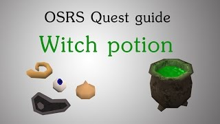 [OSRS] Witch potion quest guide