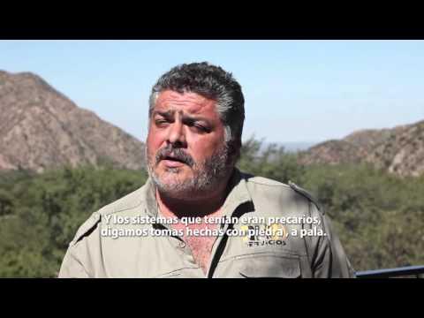 Canales de riego para productores de Amanao y Villa Vil. Aportes de Minera Alumbrera