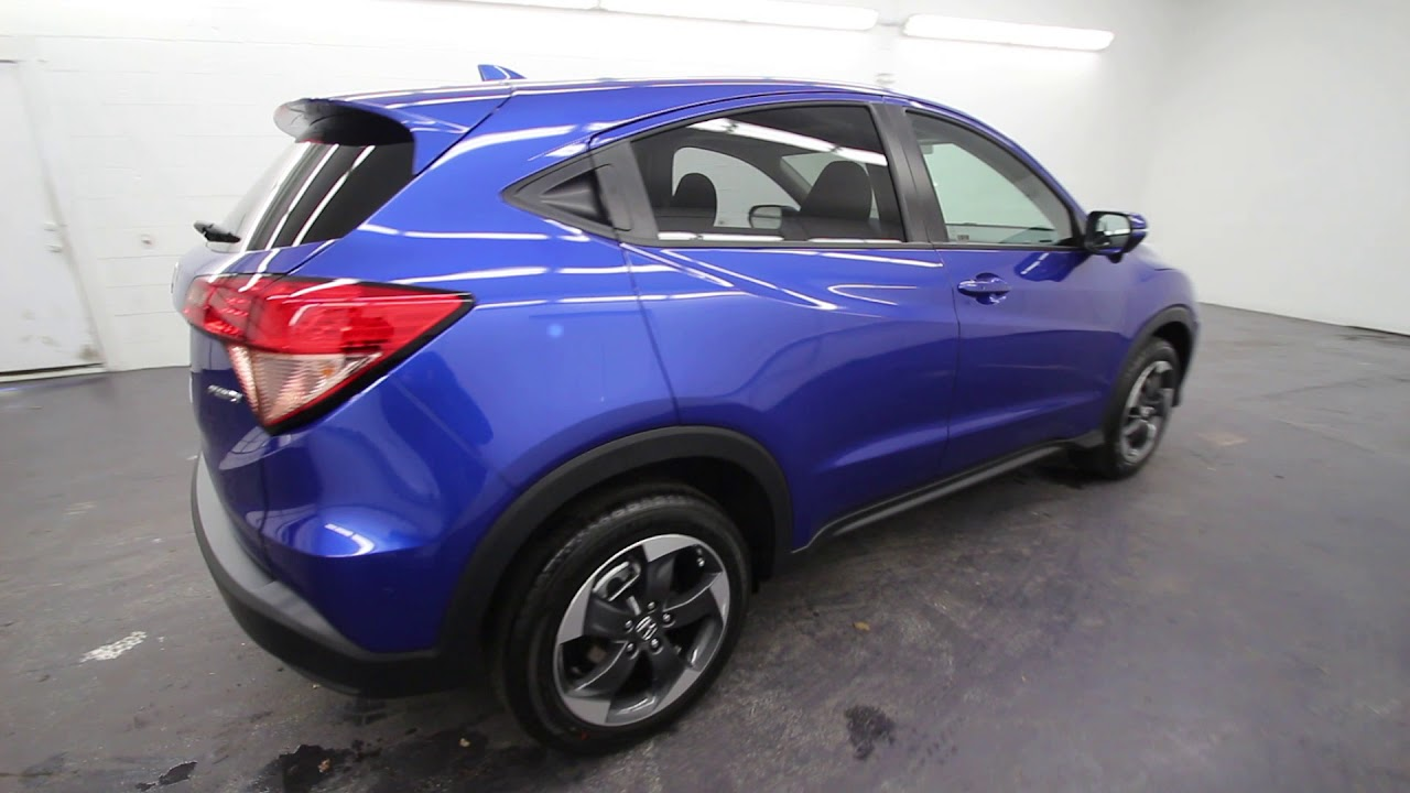 2018 Honda HR-V EX | Aegean Blue Metallic | JM701428 ...