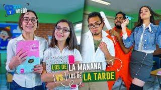 LOS DE LA MAÑANA VS. LOS DE LA TARDE | CORTE Y QUEDA