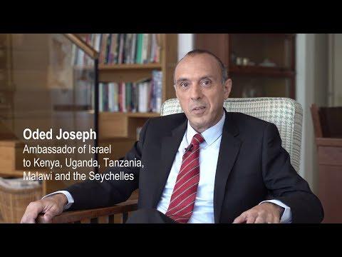 Meet Oded Joseph - Israel's New Ambassador To Kenya