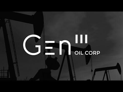 GEN III Oil Corporation - 2018 Venture 50