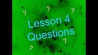 let s learn bsl lesson 4 questions