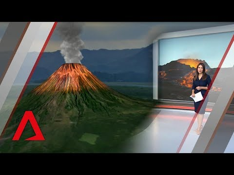 Earthquakes and volcano eruptions along the Pacific Ring of Fire in 2018