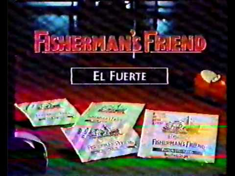 Monica Van Campen anuncio Fishermans friend 1994
