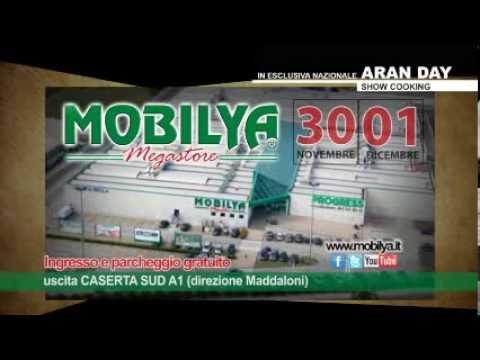 Aran day in esclusiva per mobilya megastore youtube for Mobilya caserta