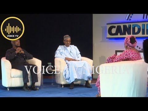 The Candidates Pres. Buhari And VP On HOT SEAT 2019