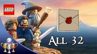 Lego The Hobbit - All Mithril Design Schematics - Red Brick Quest Items
