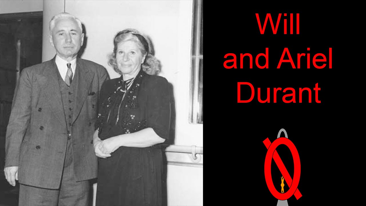 Will & Ariel Durant | Historians who changed History - YouTube