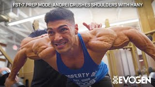 FST-7 Prep Mode: Andrei Crushes Shoulders with Hany 5 Weeks Out