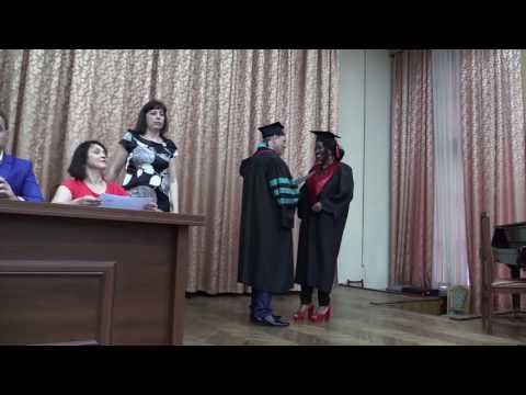 Graduation day. Lviv national medical university