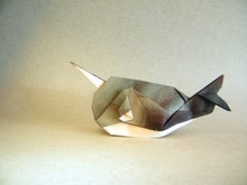 Origami Narwhal by Ryan Dong
