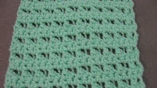 Crochet Scarf Pattern - Butterfly Stitch Scarf or Blanket