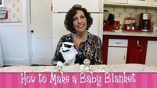 Polymer Clay Tutorial - How To Make A Baby Blanket