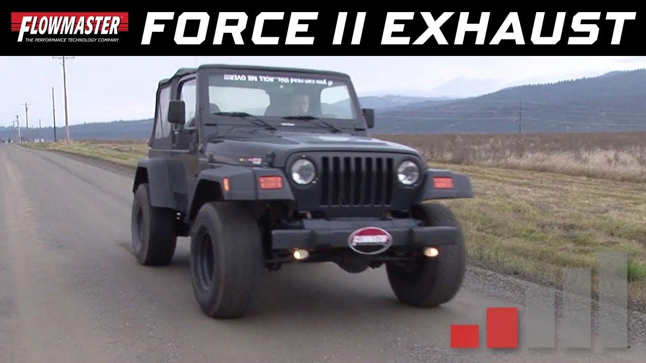 Jeep Wrangler Cat Back Exhaust
