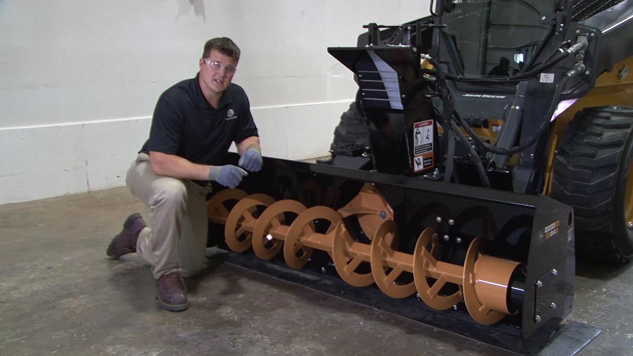John Deere Worksite Pro Attachments: Snow Blower