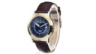 Timex Main Street Dress Leather Strap Watch SKU: 8470154