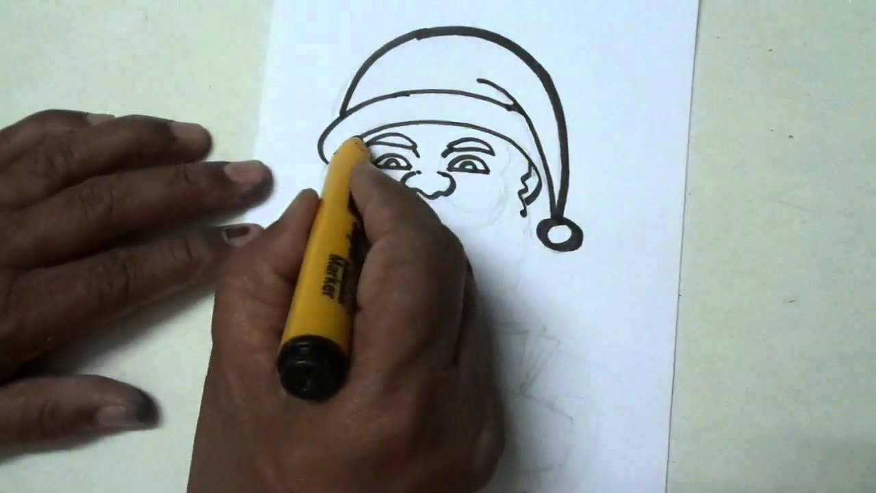 How to Draw Christmas Scene - Easy Drawing - YouTube