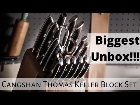A240 a203gr.a steel 15pc knife block