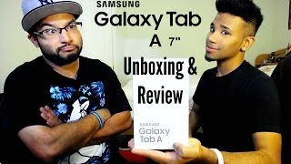 Samsung Galaxy Tab A 7-inch Unboxing & Review