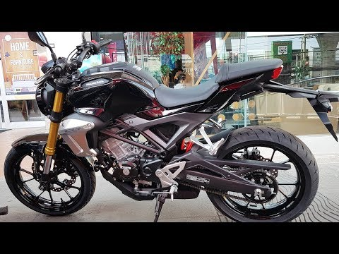 Honda CB150R Standard Asteroid Black Metallic