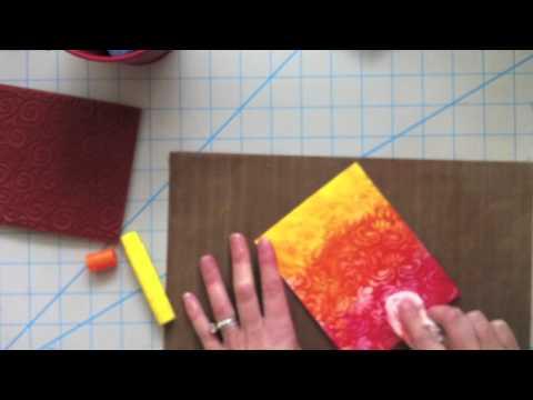 3 techniques using Faber Castell Gelatos