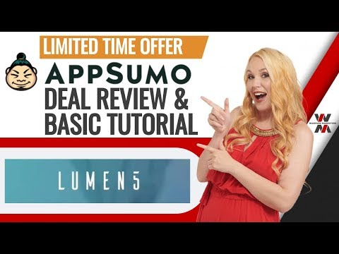 Lumen5 Review & Tutorial for: Turn blogs and articles into engaging videos