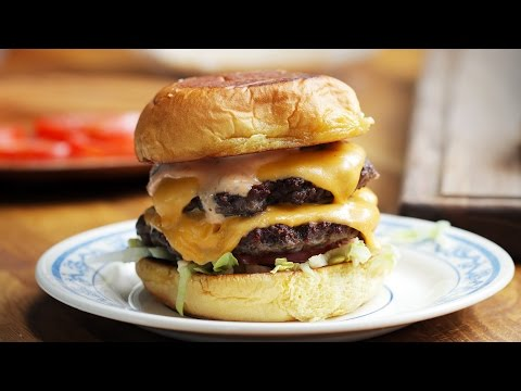 Double Cheeseburger (as made by Erik Anderson)