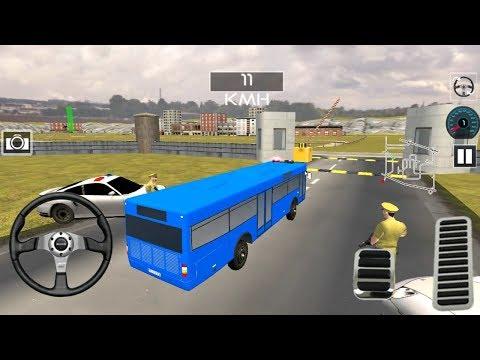 NEW BUS TRANSPORTER BLUE! | Indian Police Bus Simulator Gameplay