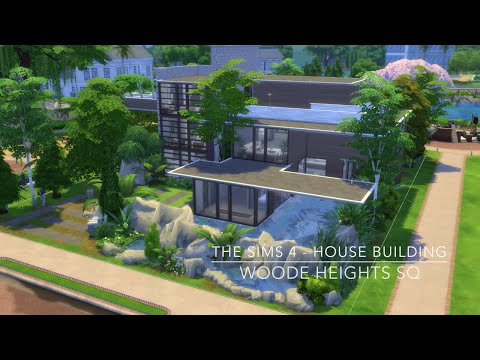 The Sims 4 - House Building - Woode Heights SQ