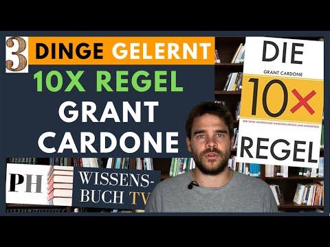 Die 10x-Regel YouTube Hörbuch Trailer auf Deutsch