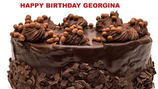 Georgina - Cakes Pasteles_518 - Happy Birthday