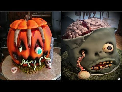 Top 15 Amazing Halloween Cake Decorating Ideas Compilation 2019 -DIY Cake Recipes #1