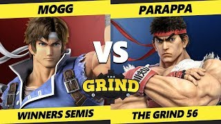 Smash Ultimate Tournament - Mogg (Richter) Vs. Parappa (Ryu) The Grind 56 SSBU Winners Semis