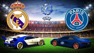 TOP CHAMPIONS LEAGUE : REAL MADRID vs PSG