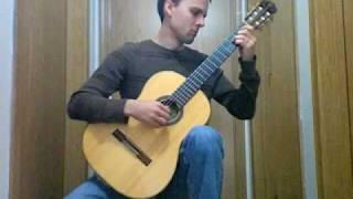 Bach: Minuets I & II (BWV 1007) classical guitar