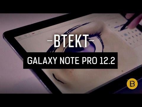 Samsung Galaxy Note Pro 12.2 - Sketchbook demo