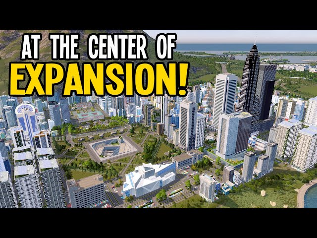Mass Expansion at the Foot of the Mountain in Cities Skylines!