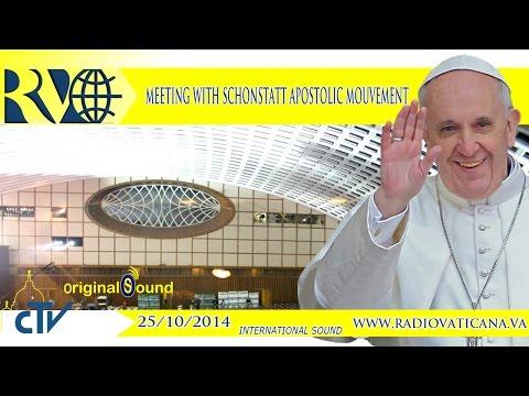Meeting with the Schönstatt Movement 2014.10.25