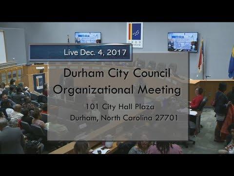 Durham City Council Dec 4 2017 Youtube
