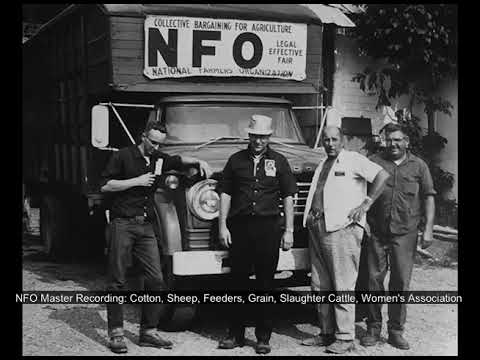 NFO Audio Recording: Tape 60 Cotton, Sheep,Feeders, Grain, Slaughter Cattle, Women's Association