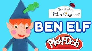 Play-Doh Ben Elf ★ How to make Tutorial ★ Ben and Holly ★