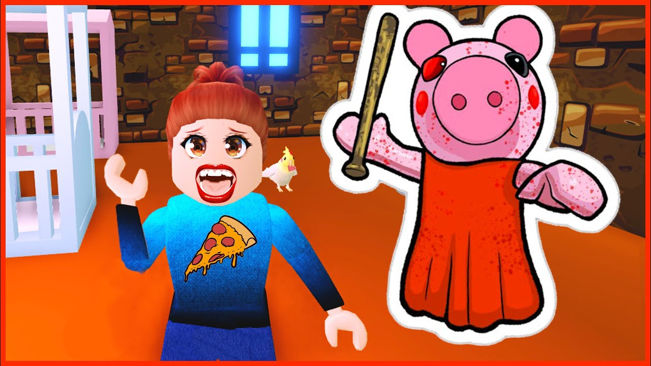MI PRIMERA VEZ JUGANDO PIGGY 🐷  y a Mia le toca ser Piggy 😱
