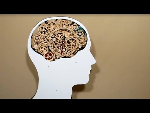 Gear Head - Working Wood Gear Mechanism