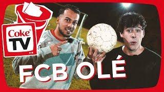 CrispyRob trainiert mit den FC Bayern Legends | #CokeTVBucketlist