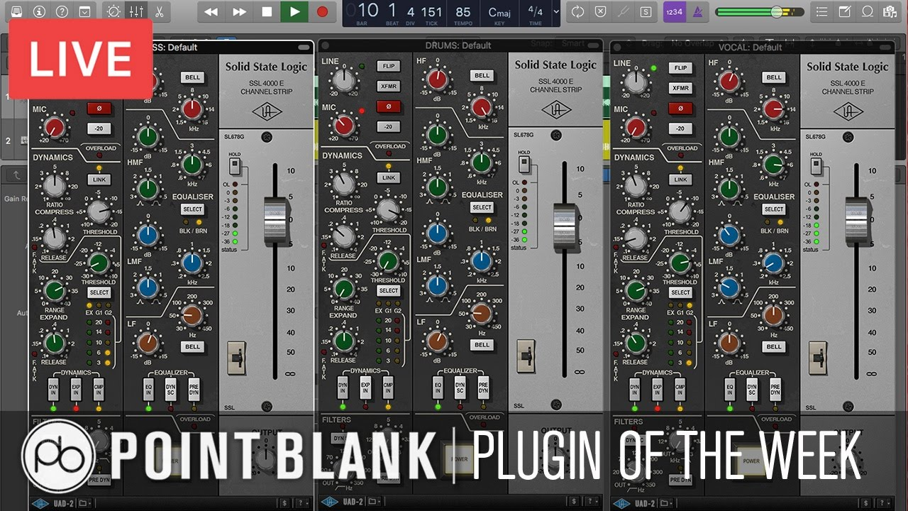 Plugin of the Week: SSL 4000 E Channel Strip