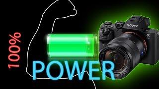 видео Питание цифрового фотоаппарата от внешнего аккумулятора
