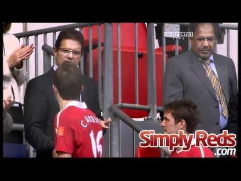 Chelsea 1-3 Manchester United - Fabio Capello and Michael Carrick