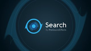 Search by Pro Sound Effects   Sound Library Workflow Software