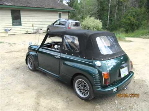 for sale 1991 austin mini cabrioni convertible youtube. Black Bedroom Furniture Sets. Home Design Ideas